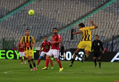 الاهلي في مواجهه المقاولون العرب للتحليق بقمة الدوري لبعيد