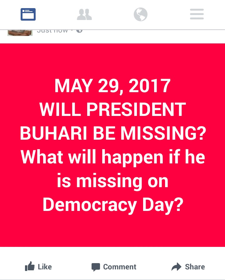 What will happen in Nigeria on May 29