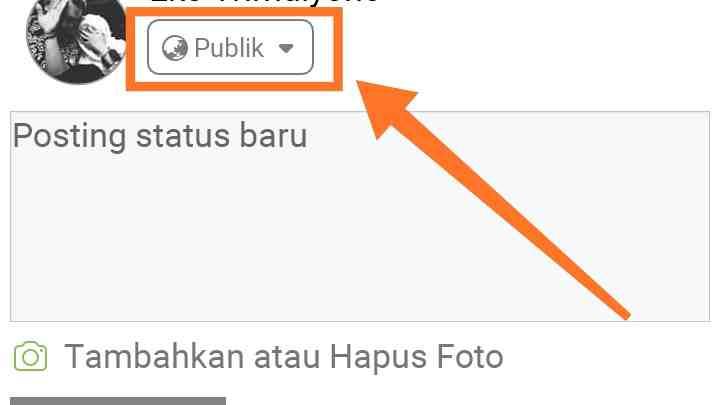 Cara menyembunyikan foto dan teman di fb