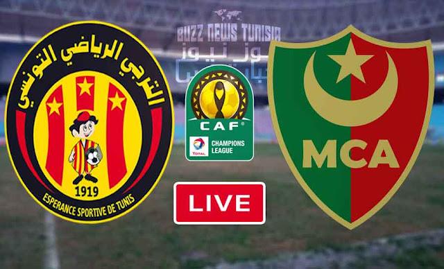 Match Taraji Esperance vs Mouloudia Alger Live Stream