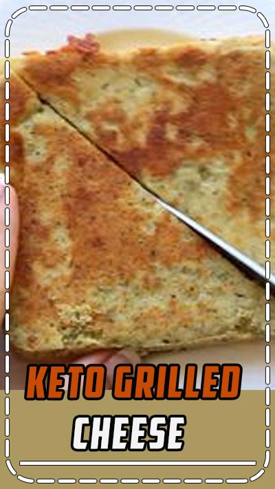 Keto grilled cheese recipe to make for lunch or dinner! Ketogenic diet grilled cheese 90 second bread recipe in the microwave. Keto diet/ low carb idea