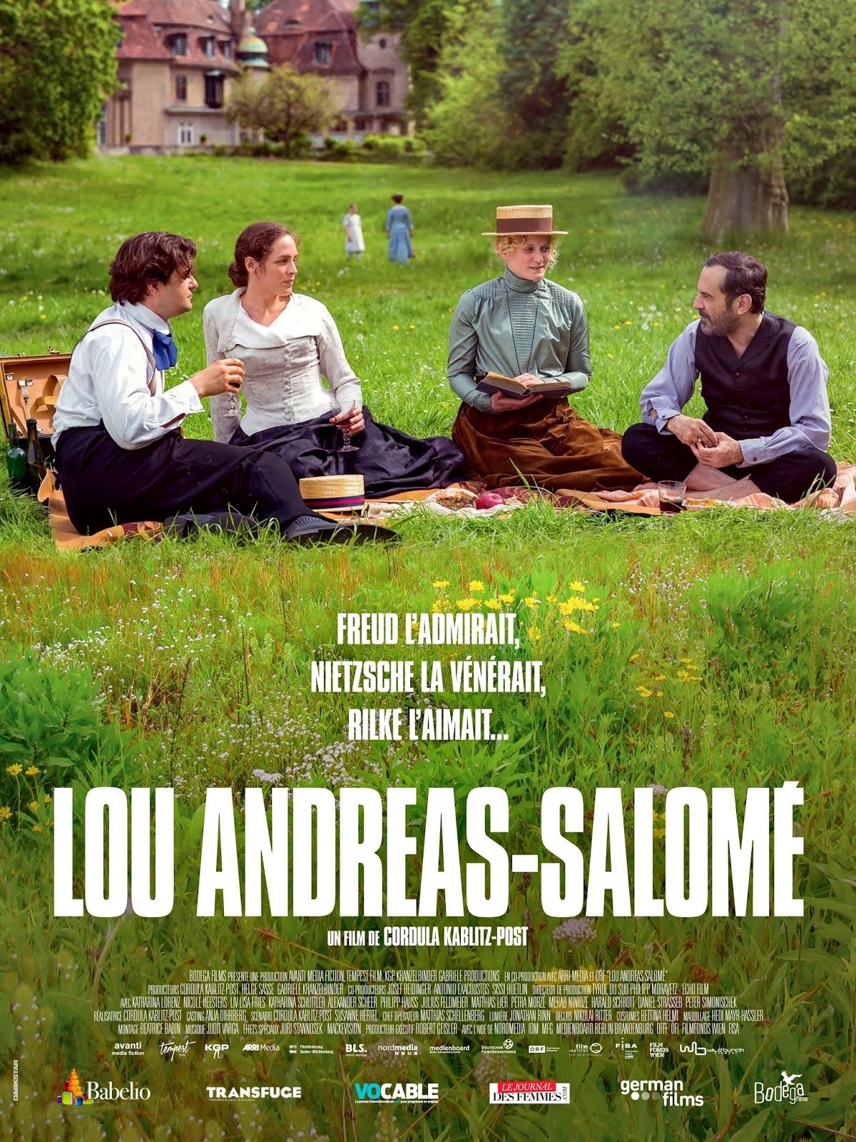 CARTELES DEL CINEMA: LOU ANDREAS-SALOMÉ - Lou Andreas-Salomé - 2016