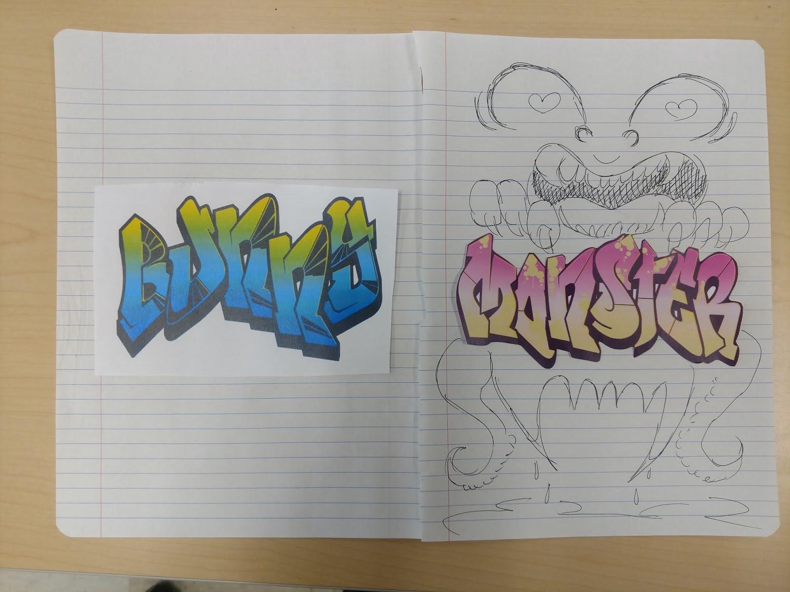 Module 2 graffiti
