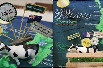 Puan Lembu Susu Fernleaf 🐄 datang dari Ladang New Zealand melawat orang Malaysia 😜