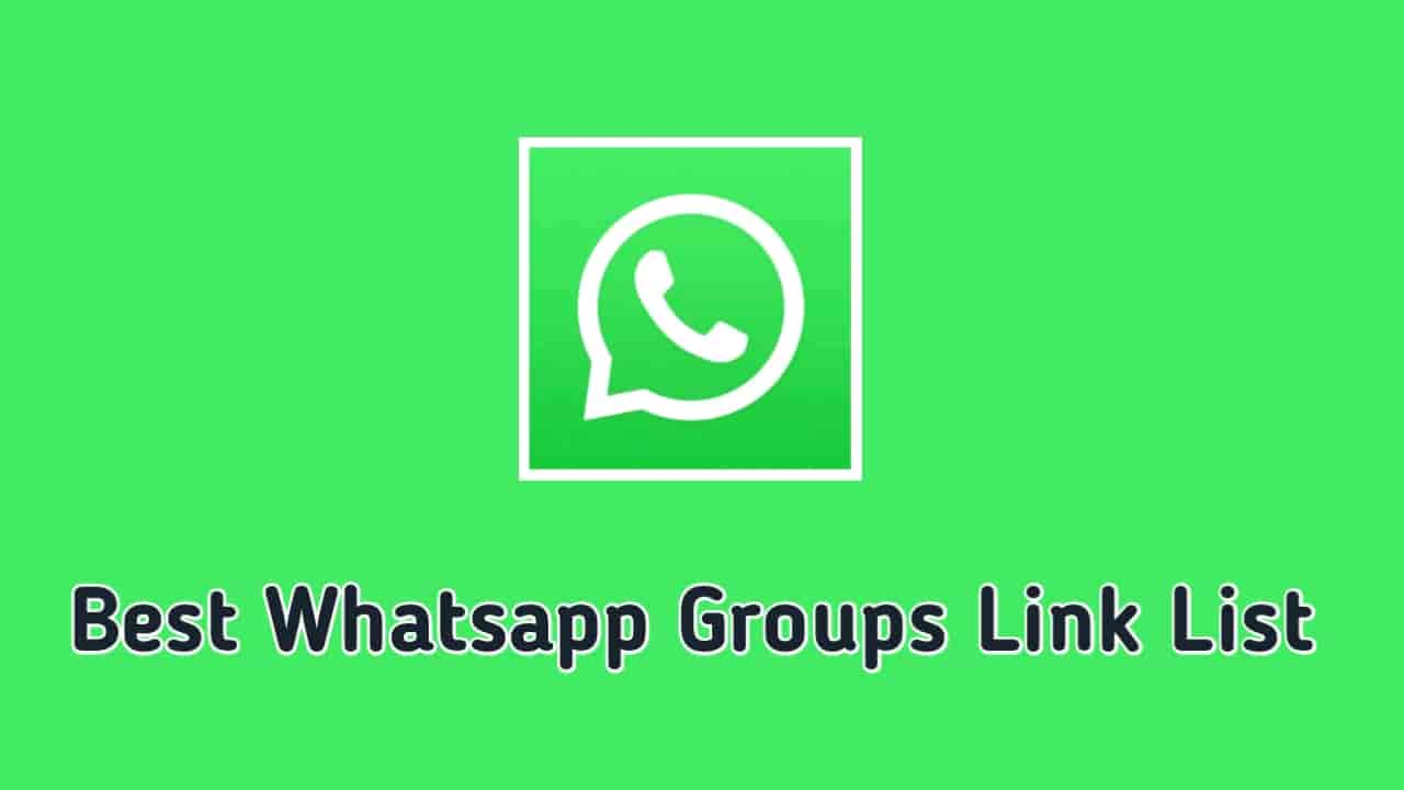 2000+ Unique Whatsapp Groups List & Join Links