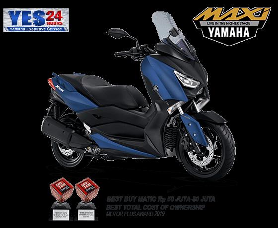 Spesifikasi, Fitur, dan Warna Yamaha XMAX
