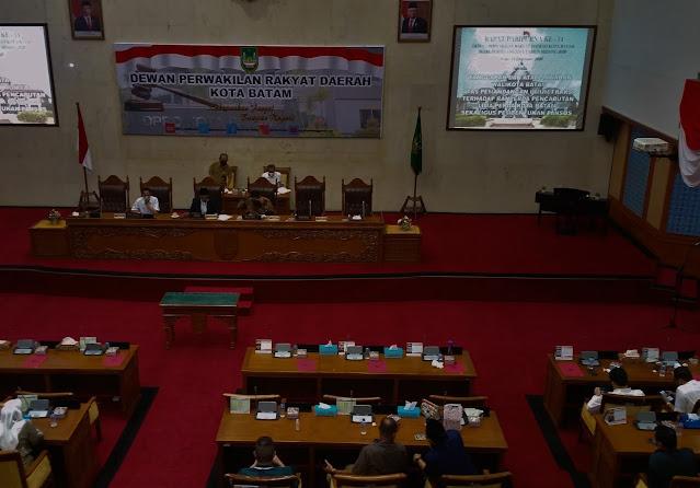 Berikut Ketua dan Wakil Pansus, Pencabutan Lima Perda Kota Batam