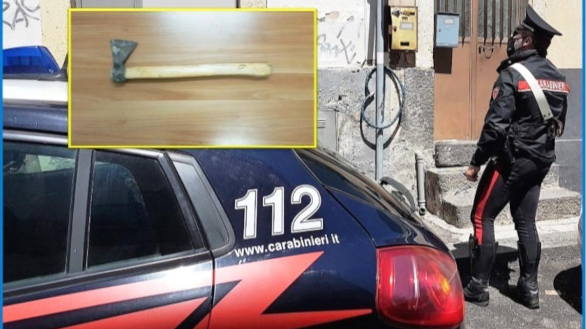 Via Plebiscito Carabinieri violenza domestica donna incinta