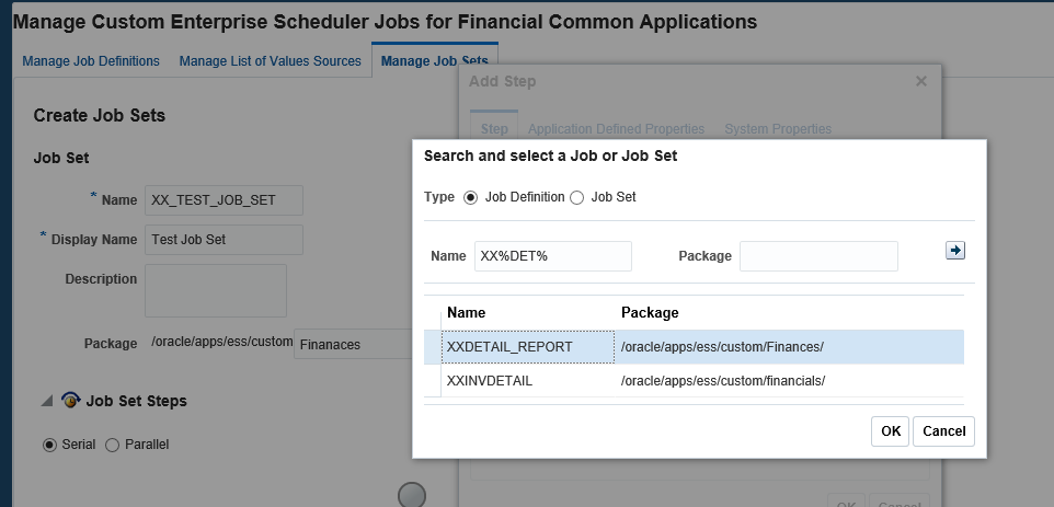 How to Create Job Set/ Concurrent Request Set in Oracle Fusion