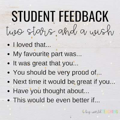 Looking for a way to provide meaningful, authentic and timely feedback to your little learners? These feedback slips are the answer!