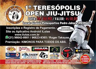 Teresópolis Open de Jiu-jítsu 16/07 Ginásio Pedrão