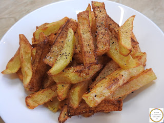 Cartofi prajiti la zepter reteta rapida in ulei la tigaie cu capac retete mancare post legume fast food garnitura sare piper crocanti moi,