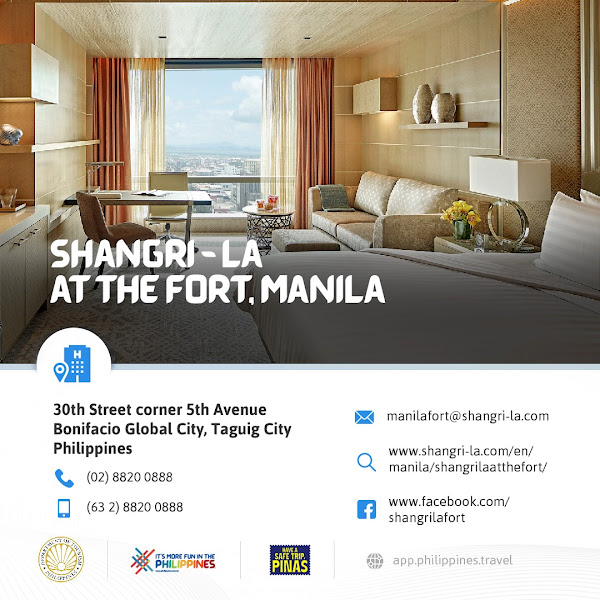 Shangri-La at the Fort Manila New Normal Hotels in Metro Manila DOT-Accredited Hotels