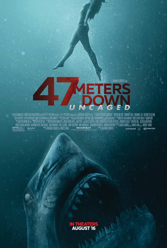 47 Meters Down: Uncaged, Suspense, Shark movie, Rollo de Pelicula, Movie Review by Rawlins, Rawlins GLAM