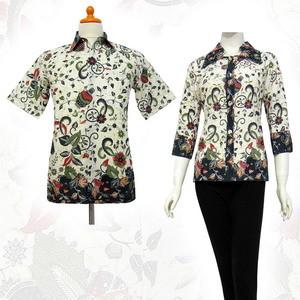 Baju Seragam Kerja Batik untuk Kantor Model Atasan