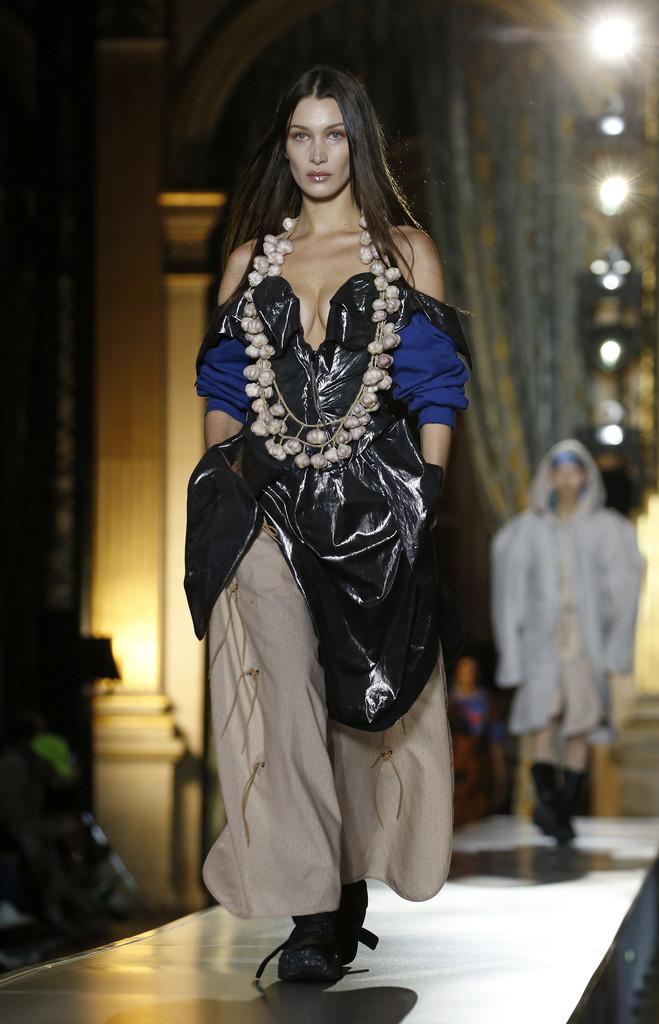 Bella Hadid – Vivienne Westwood show at Paris Fashion Week Womenswear F/W 20/21