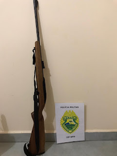 Palmital: Agressão e posse irregular de arma de fogo