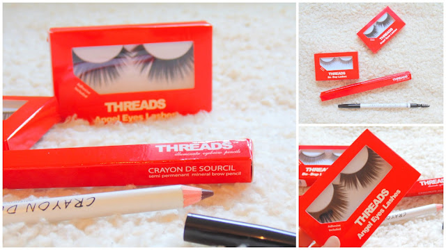 Threads Brow Pencil + False Lashes