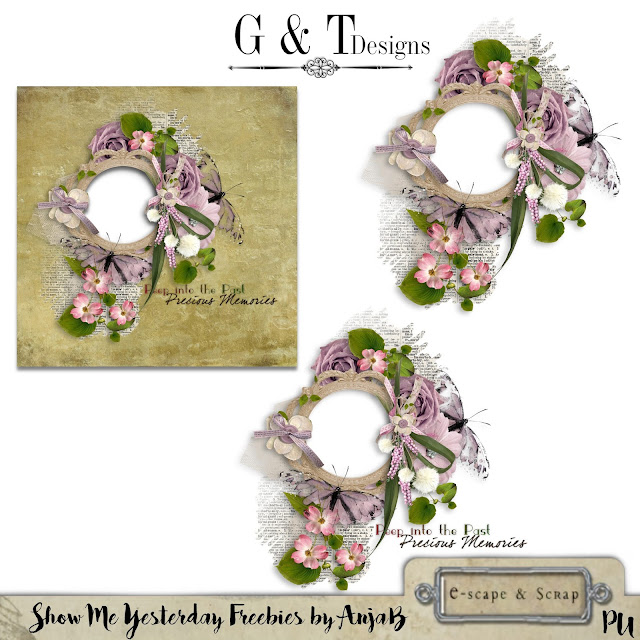 G&T Designs - Show Me Yesterday Re-release & Freebie