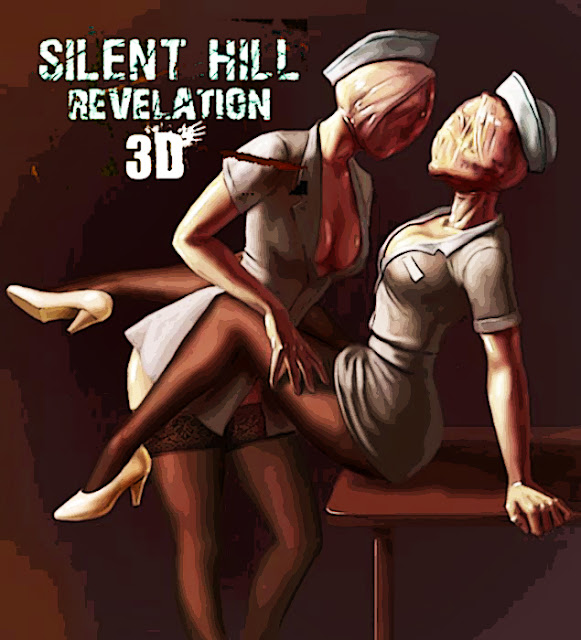 What sound do the super sexy Nurses of Silent Hill Revelation make in your head? Betcha it sounds like this...