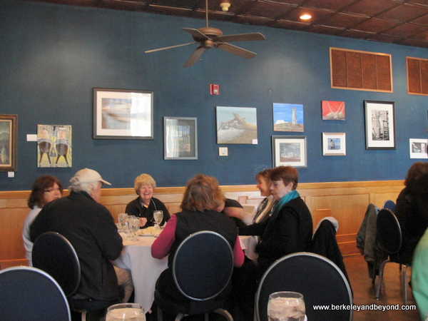 dining room at Pujo Street Cafe in Lake Charles, Louisiana
