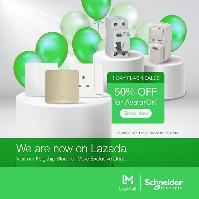 AvatarOn light switches by Schneider Flash Sales