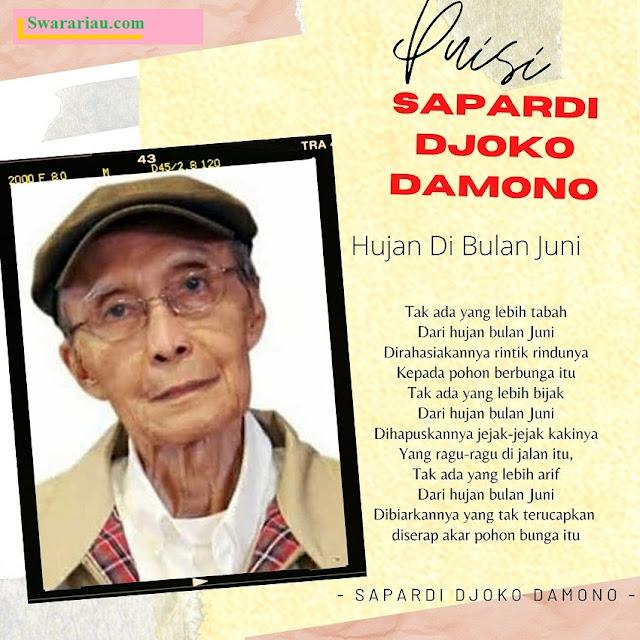 Profil Sapardi Djoko Damono