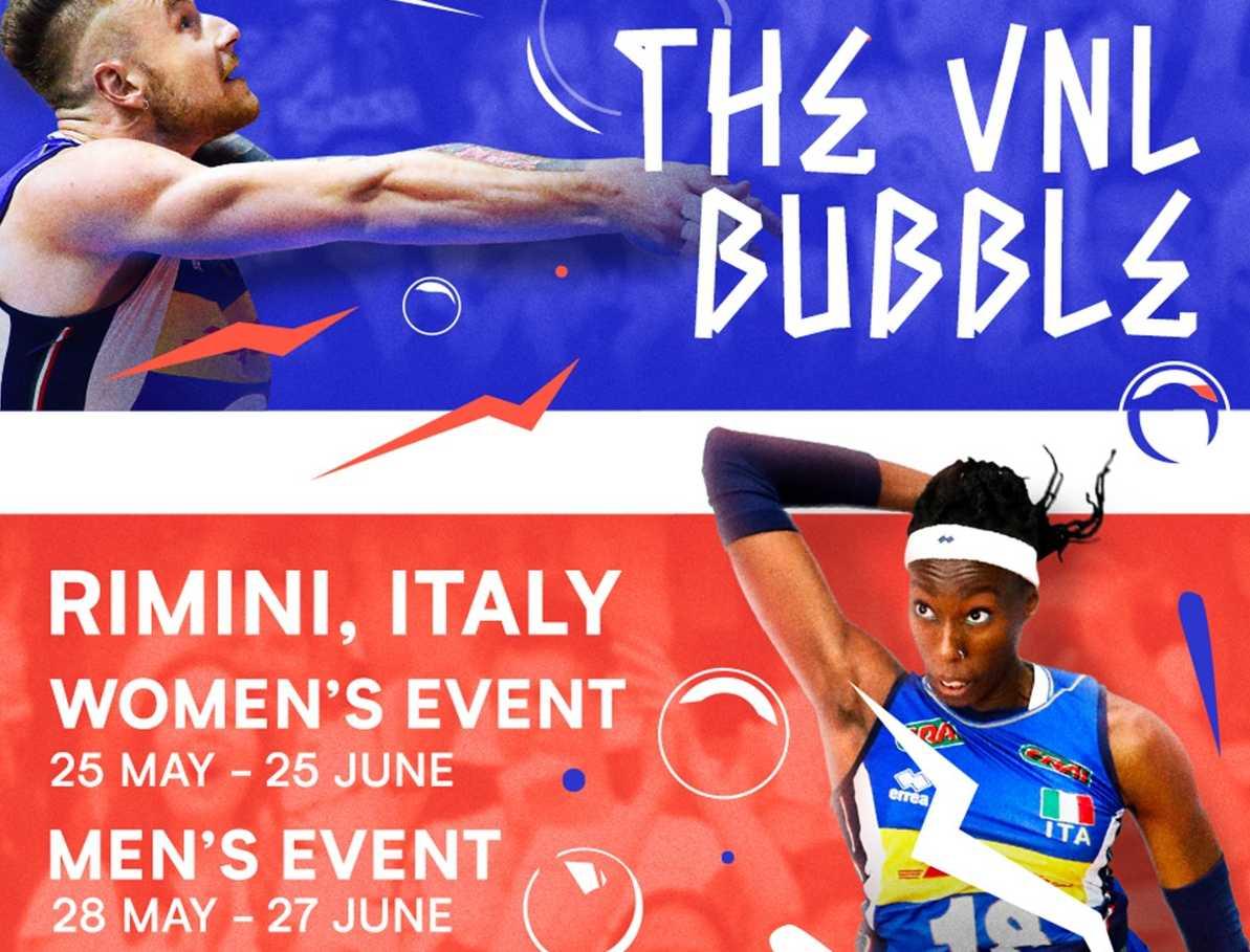 FIVB confirma Liga das Nações masculina e feminina em 'bolha' montada na  Itália - Surto Olímpico