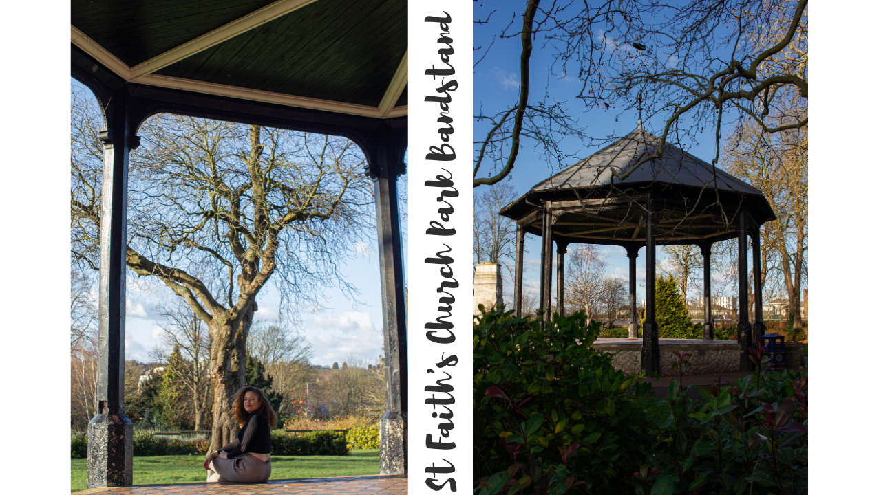 Bandstand St Faiths Church park Maidstone