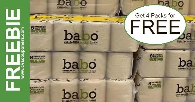 FREE Babo Toilet Paper CVS Deals