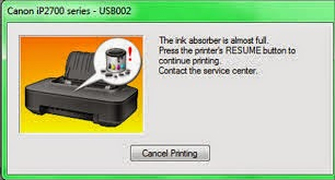 Cara Mereset Printer Canon IP2770