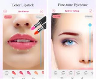 Beauty makeup aplikasi edit foto agar telihat lebih cantik khusus wanita