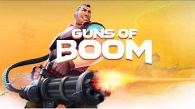 Download Game Mod Guns of Boom MOD APK Online Instant reload