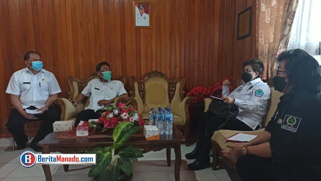 Maya Rumantir Lakukan Monitoring Penanganan Pandemi COVID-19 Kabupaten Minahasa