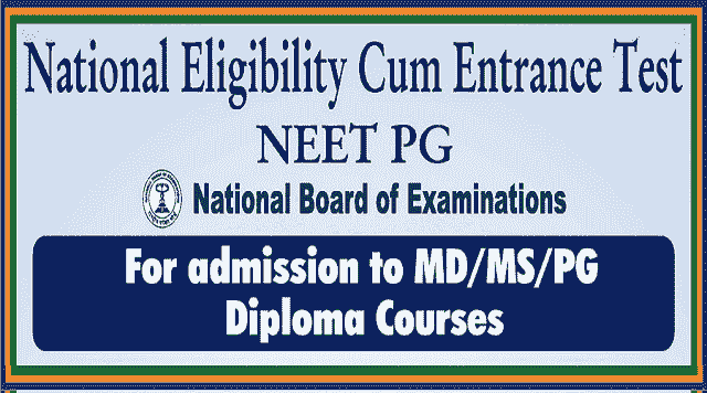 neet pg 2018 for md/ms,pg admissions,neet pg medical entrance test,online application form,how to apply,exam fee,admit cards,results,exam pattern