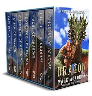 Dragon Mage Academy - a fantasy adventure by Cordelia Castel