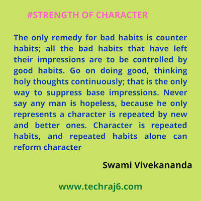 Strength of Character Quotes By Swami Vivekananda