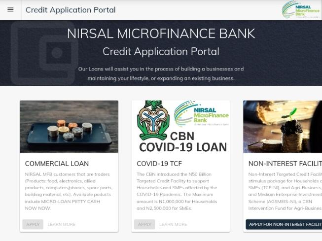 Kira Ga 'Yan Arewa: Ana ci Gaba Da Cike Rancen Kuɗi Marar Ruwa Na NIRSAL Microfinance bank 'Yan Arewa Muna Ja Baya
