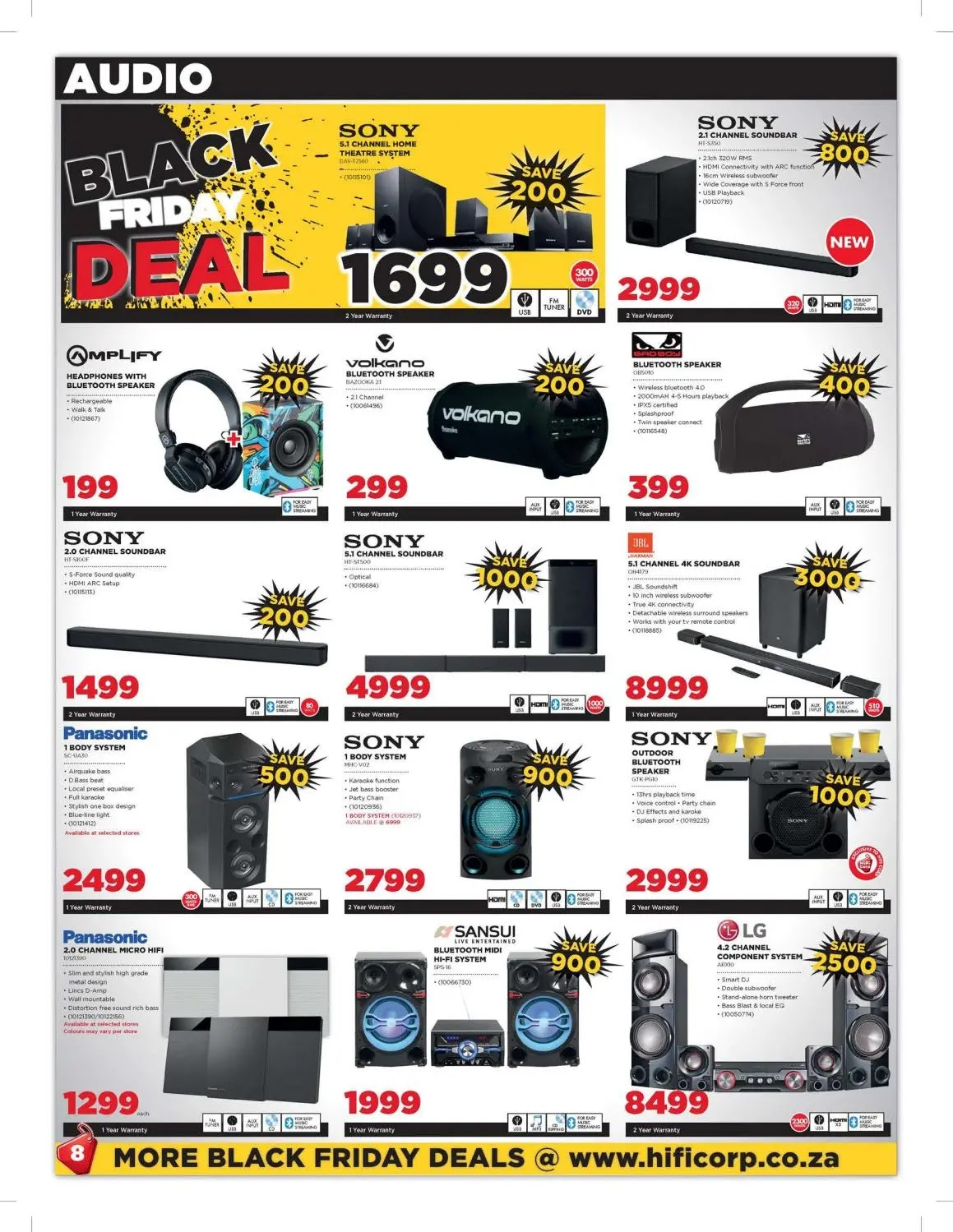 HiFi Corporation Black Friday Deals  Page 8