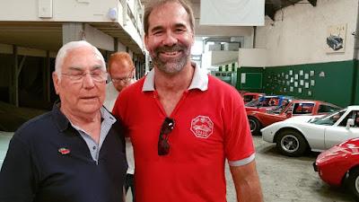 Toni Bianco em Sérgio Henriques: o encontro do criador do Bianco com um de seus grandes entusiastas, em 2019.