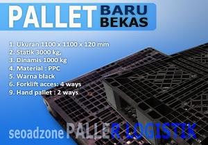 Review Pallet Logistik 1100x1100x120 mm   Harga dan Spesifikasi