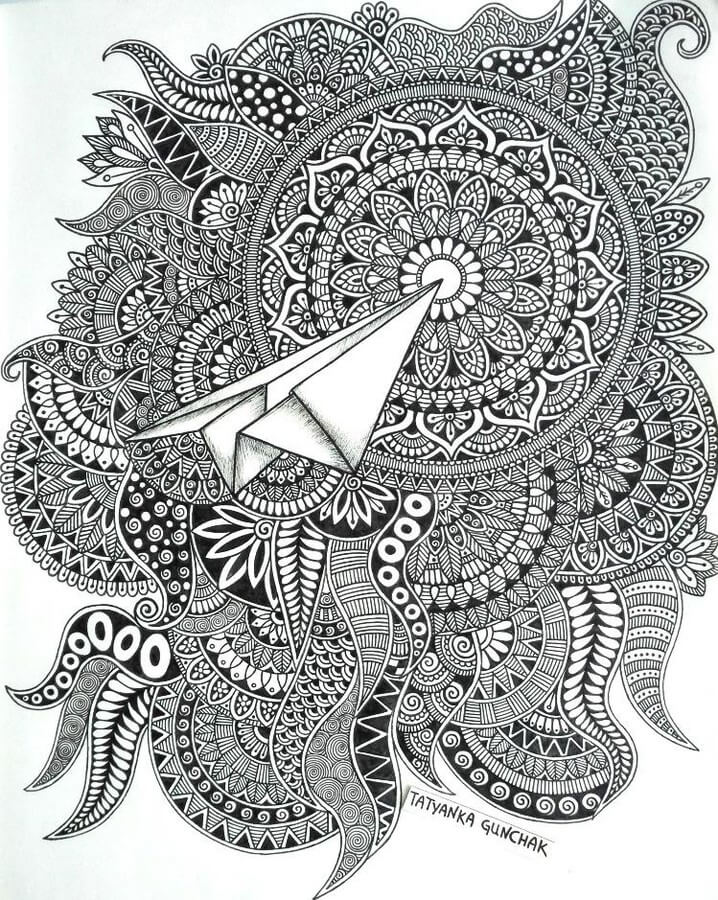 Paper Air Plane by T. Gunchak