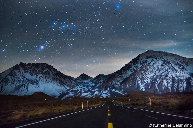 Stars Over Eastern Sierra Mountains Things to Do in Bishop California