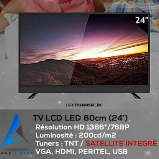 Leader 24 LE-CTV2400 LED TV - Noir