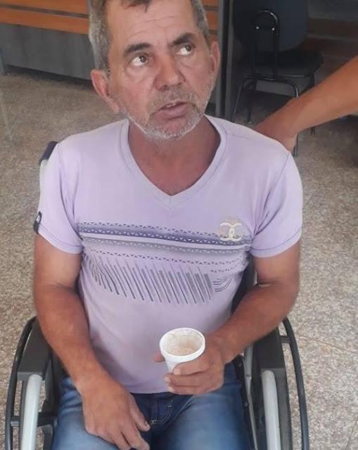 CAMPANHA É INICIADA PARA AJUDAR O GARIMPEIRO CURUPIRA QUE PRECISA DE TRATAMENTO DE SAÚDE