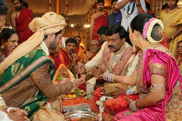 Gali Janardhan Reddy Daughter brahmani Marriage Photos
