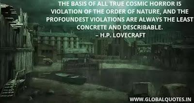 H P Lovecraft Quotes