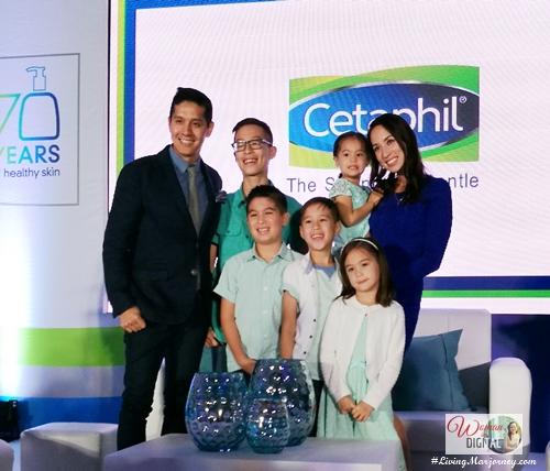 Mendoza family, Cetaphil's brand ambassador