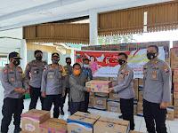 Bantuan Dari Polda Jatim, dan Bhayangkari Mendarat Tepat Sasaran