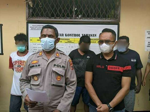 Polsek Jayapura Utara Kembali Bekuk 2 Pelaku Pencurian Hewan Peliharaan